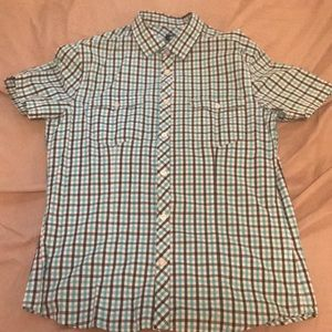 Short sleeve button down shirt